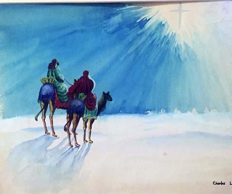 Chuck Lamby Painting 1B