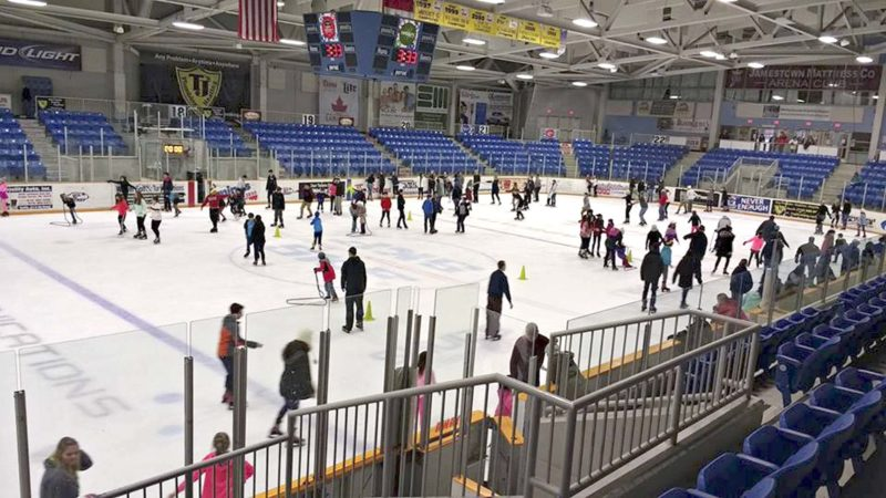 Submitted Photo: Northwest Arena will hold a free public skate today, as part of Jamestown Cruise-In.
