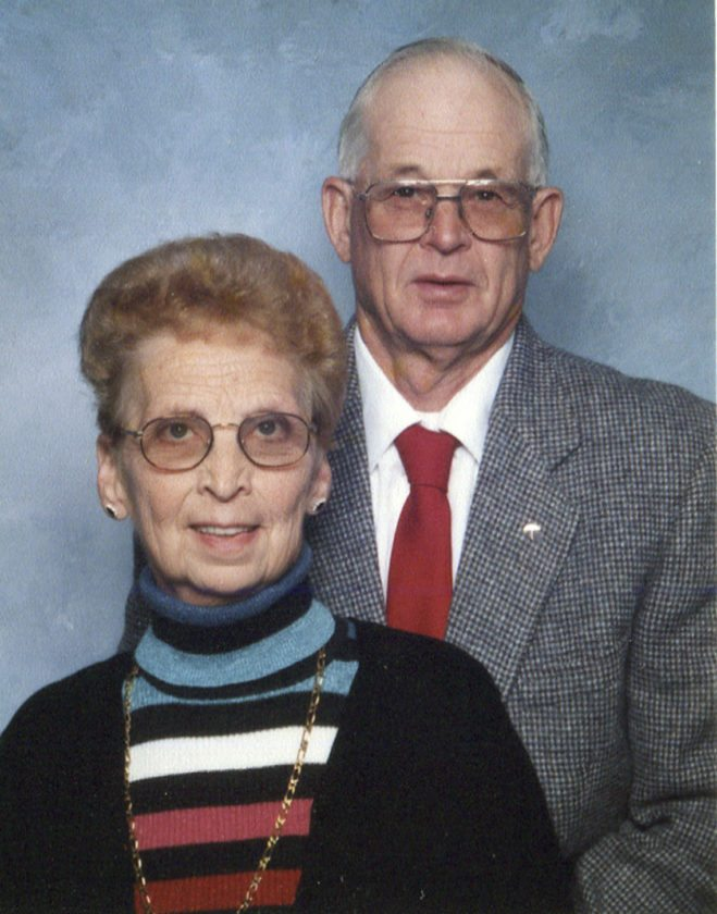 Earl and Irene Blakely