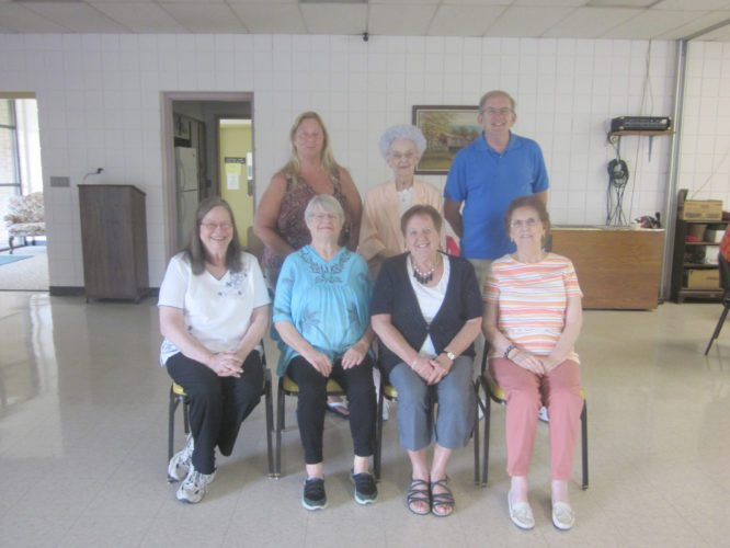 OBSERVER Photo by Diane R. Chodan Members of the Dunkirk Senior Citizens who celebrated birthdays in August are pictured left to right. Seated: Pam Westman, Paula Vogt, Joanne Haase and Shirley Swiech. Standing: Susan Schrantz, Nancy Woloszyn and Ron Krystofiak. Each month the Dunkirk Seniors provide a lunch to those members who celebrate birthdays in that month. Each member may bring a paid guest if desired.