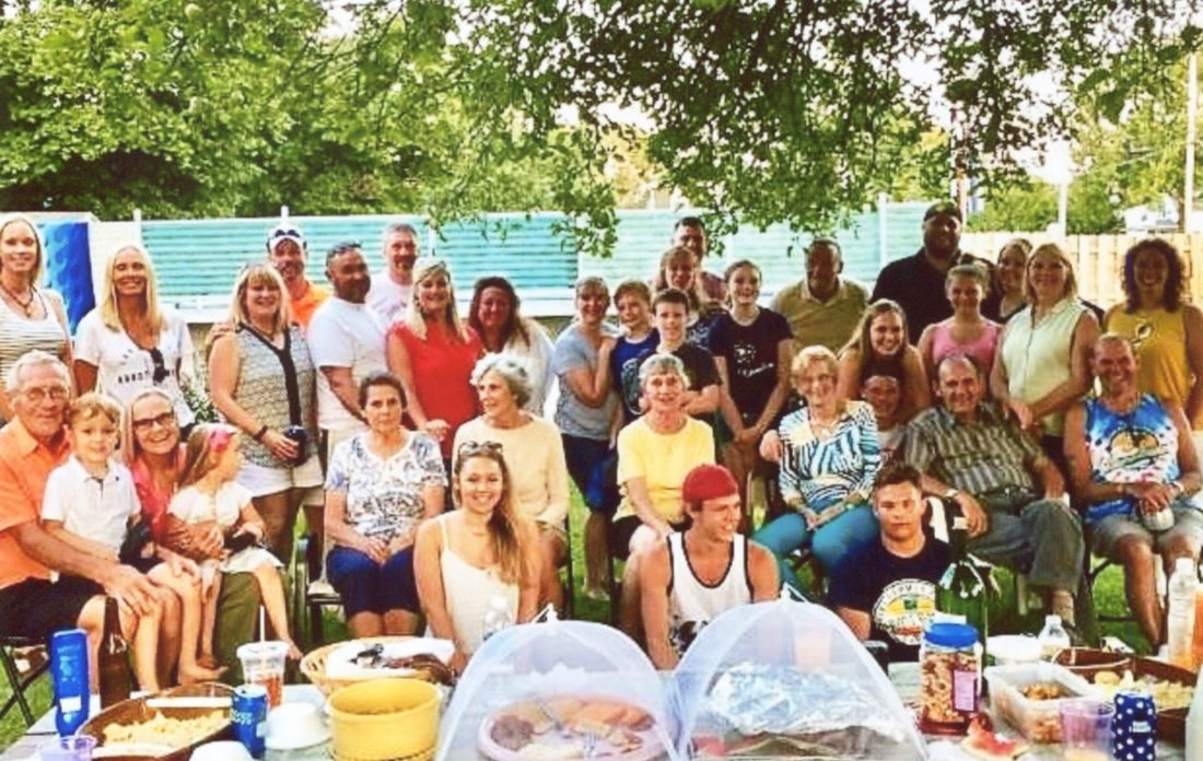 The Bienko family reunion was held in August. About 50 family members attended and shared stories and food.