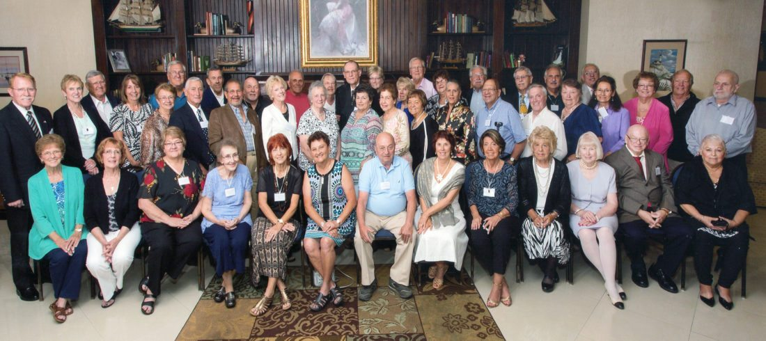 Dunkirk High School Class of 1962 recently held its reunion.
