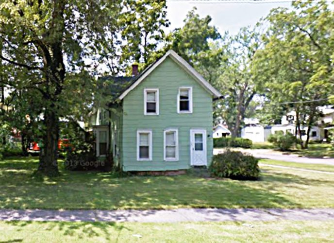 Photo Courtesy of Google Maps Pictured is 709 Eagle St., Dunkirk. he Land Bank recently acquired the property.