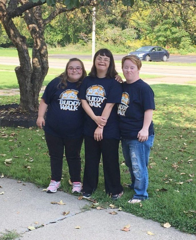 Submitted Photo The Buddy Walk will take place Oct. 7 in Lakewood.