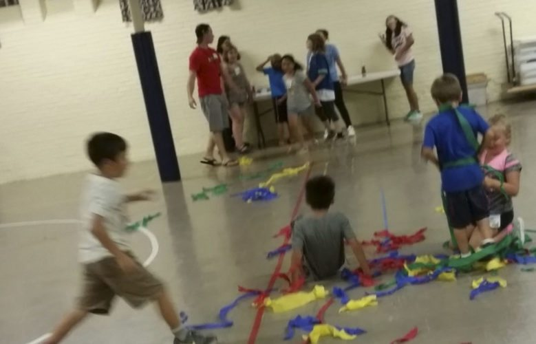 Submitted Photo: Returning students enjoying their time at the Awana Club Kickoff Wednesday, Sept. 20. Students in grades K-12 are invited to join Awana Club any time.