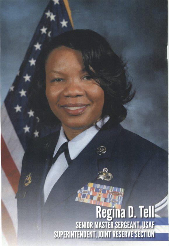 Senior Master Sergeant Regina Tell