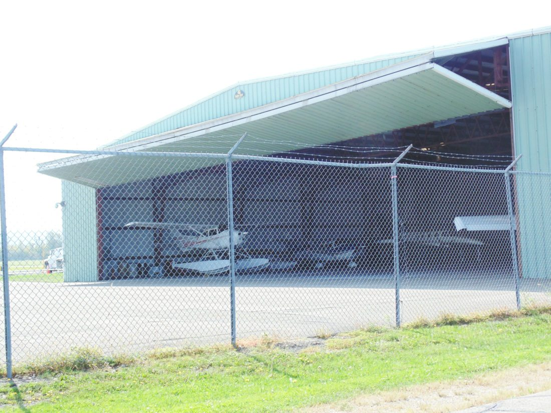 OBSERVER photo by Jimmy McCarthy Aircraft service and maintenance at the Chautauqua County-Dunkirk Airport has been led by the Nalbone family since the early 1960s. But come Oct. 31, the fixed-base operation under the current ownership of Louis Nalbone will come to an end at the Dunkirk Airport. Pictured is a hangar at the airport.
