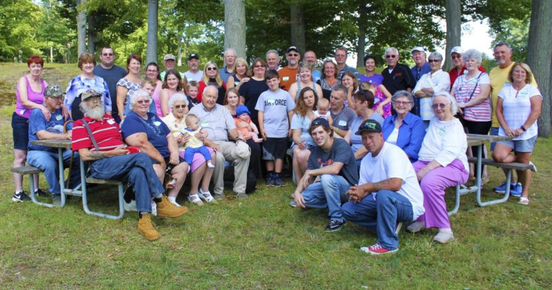 Submitted Photo Pictured are attendees at the 97th Whipple family reunion held Aug. 20.
