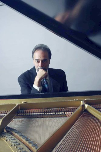 Submitted Photo On Thursday at 8 p.m. in Rosch, Fredonia alumnus and Eastman School of Music Professor Tony Caramia, piano, will take the stage with Fredonia music faculty members Kieran Hanlon, bass and Alec Dube, drums for an evening of jazz.