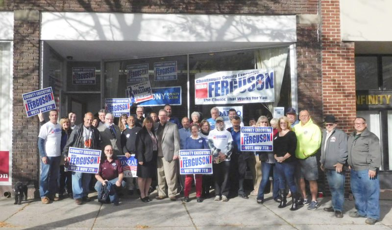 Submitted Photo The Dunkirk Democratic Committee's headquarters is located at 423 Central Ave.,