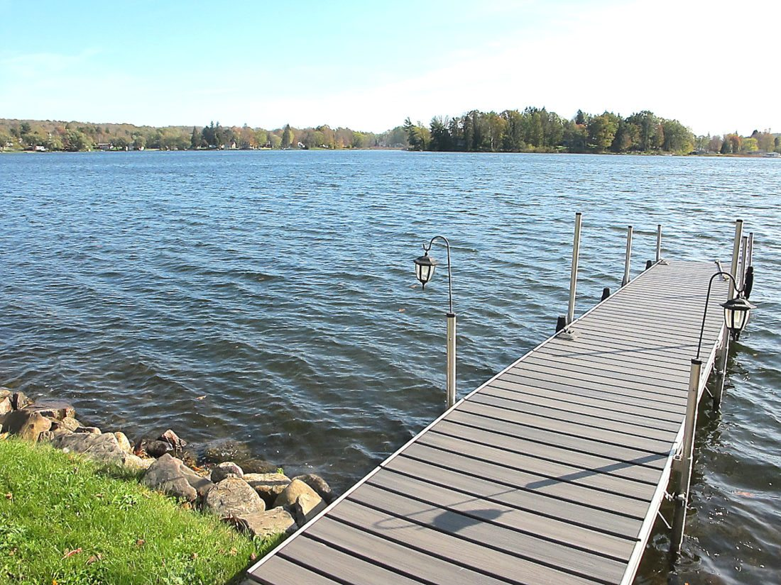 OBSERVERPhoto by Damian Sebouhian Pictured is Cassadaga Lake as seen from Dale Drive. The Village Board passed a new lake and wetlands protection law during Wednesday's meeting.