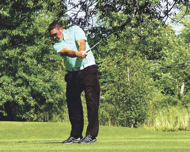 Submitted Photo Josh Harrington took first place at the Shorewood Country Club's Men's Club Championship. Harrington shot a 73-74 for a two-day total of 147. This was Harrington's first club championship title at Shorewood.