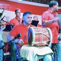 Raymond Rosas and his band are set to play at the Tradition Fest on Saturday.