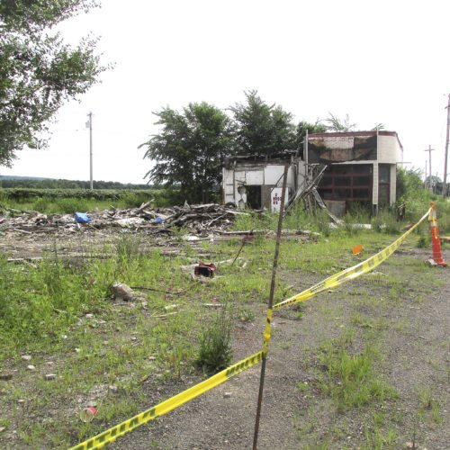 OBSERVERFile Photo Town of Sheridan Supervisor Lou Delmonte has been cited for illegal disposal of solid waste for this location.