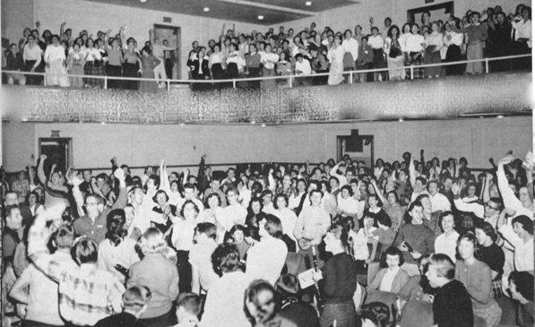 DHS Pep Rally 1959