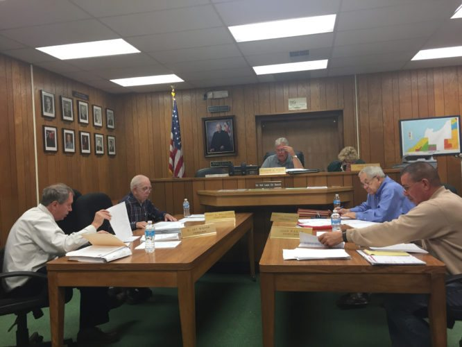 OBSERVER photo by Jimmy McCarthy The Dunkirk Town Board approved the 2018 budget during Tuesday's meeting. The amount to be raised by taxes is just over $319,000 when combining special districts in the town.