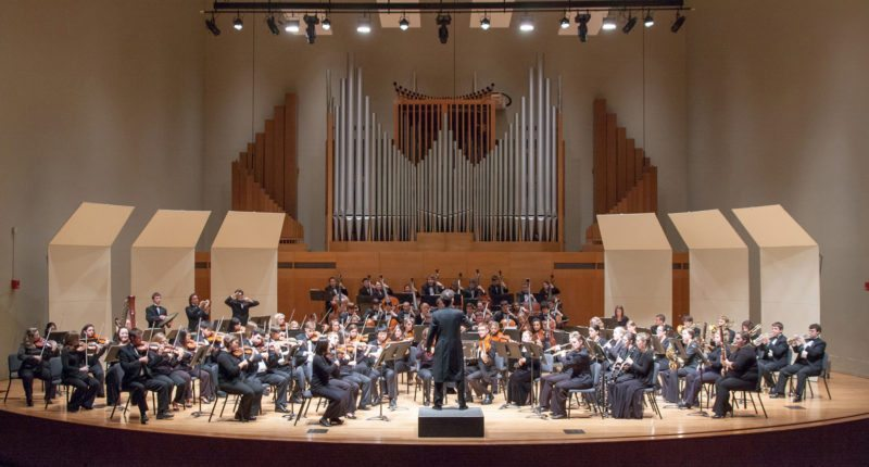 Submitted photo The State University of New York at Fredonia College Symphony Orchestra will perform Nov. 30 in Rochester