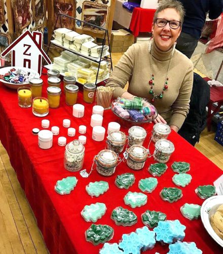 Photo submitted Diane's Sugar Shack Creations of Eden was one of the many vendors for the largest craft and vendor show, The Friends of the Village, Inc. says.