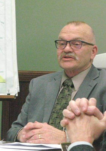 OBSERVER File Photo  The decision to move Brooks Memorial Hospital from the city of Dunkirk to the property off Route 20 in Pomfret surprised many, including Town Supervisor Don Steger, who told the OBSERVER that it wasn't something he thought the town was in the running for.