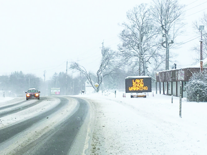 OBSERVERPhoto by Greg Bacon Winter conditions caused multiple motor vehicle accidents Tuesday afternoon throughout Chautauqua County.