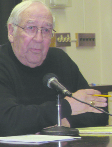 Former Mayor Richard Frey served the city for 10 years.