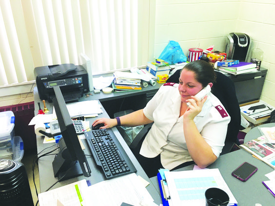 OBSERVER Photo Running the Salvation Army in Dunkirk has been a special calling for the Lt. Samantha Lockard and this community.