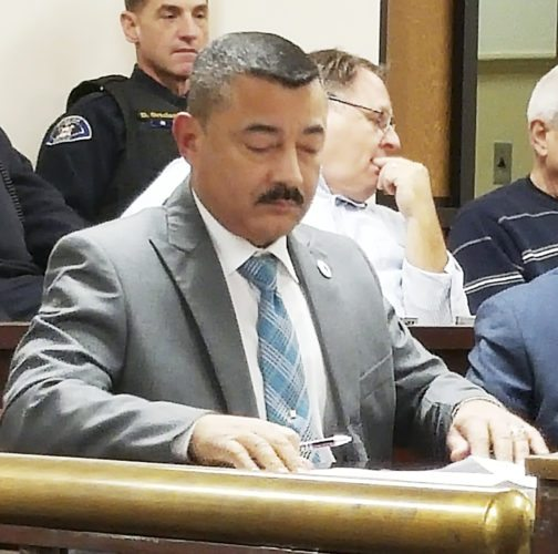 OBSERVER Photo by Nicole Gugino Dunkirk Mayor Willie Rosas will attend today's State of the State address in Albany.