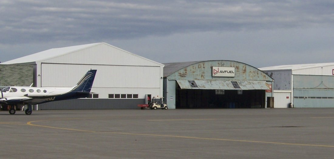 Submitted Photo Pictured is Hangar 3 at the Dunkirk Airport slated to be replaced, thanks to grant funding from New York state.