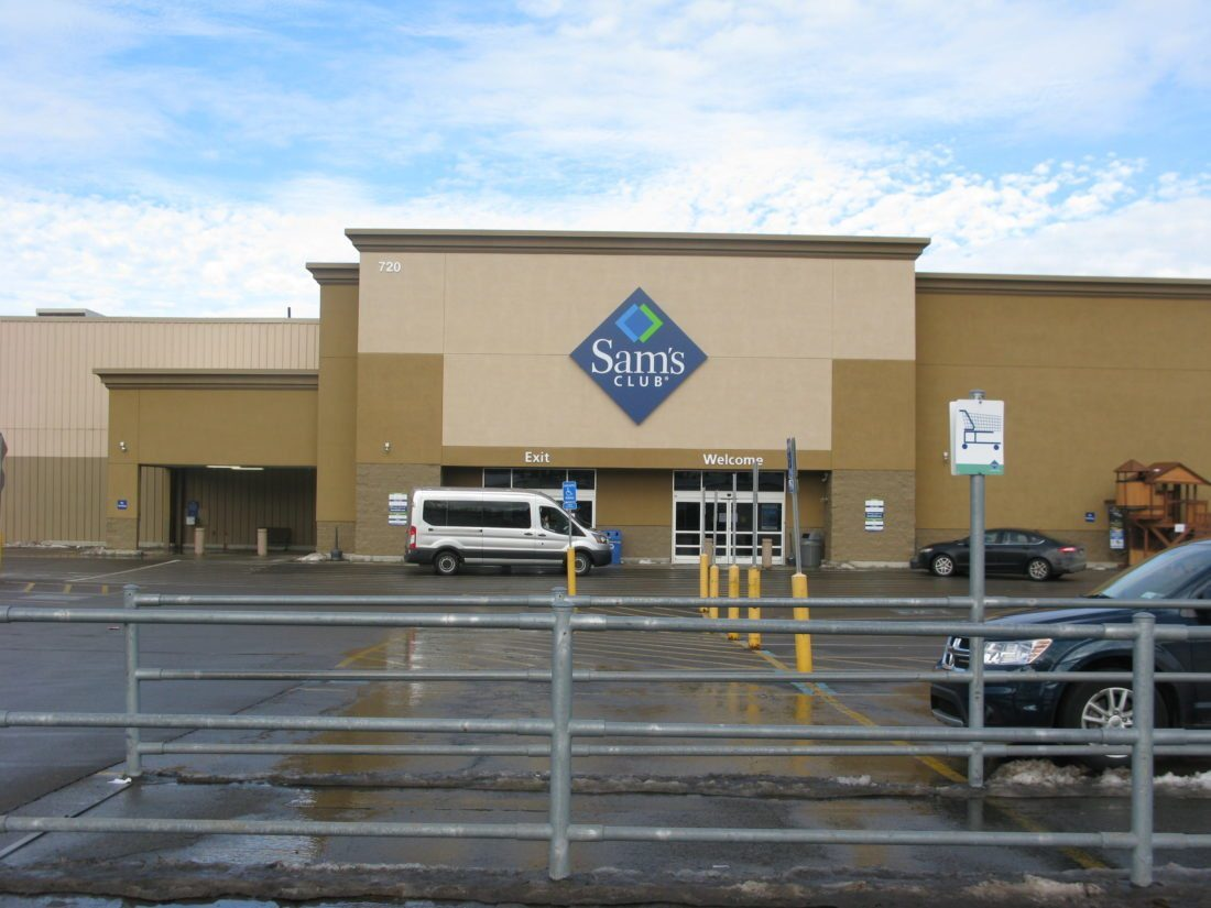 Sam's Club in Jamestown is  one of 63 locations to be closed.