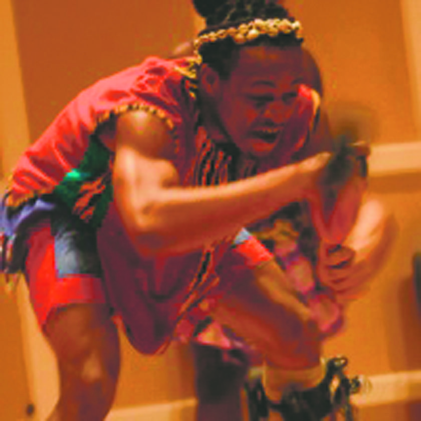 Submitted Photo The Saakumu Dance Troupe, a leading traditional/contemporary dance and music group in Ghana, West Africa, will perform on Wednesday, Jan. 24 at 8 p.m., in Rosch Recital Hall at the State University of New York at Fredonia.