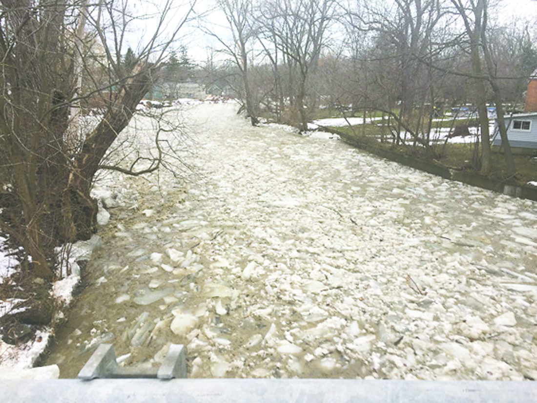 OBSERVER Photo by Jimmy McCarthy Pictured is a fast flowing Silver Creek.