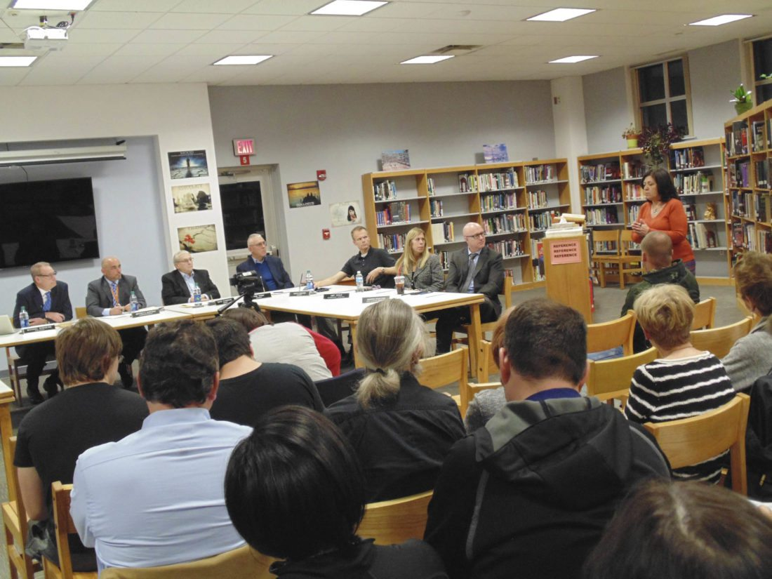 Recent meetings of the Fredonia school board have been highly attended due to the middle school principal issue.