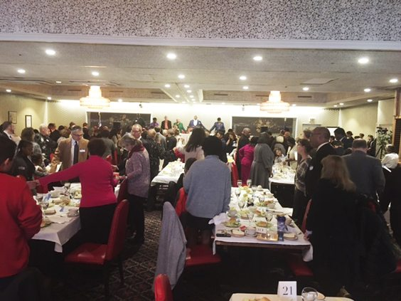 OBSERVER Photo About 170 people were in attendance for Monday's luncheon honoring the memory of Martin Luther King Jr.