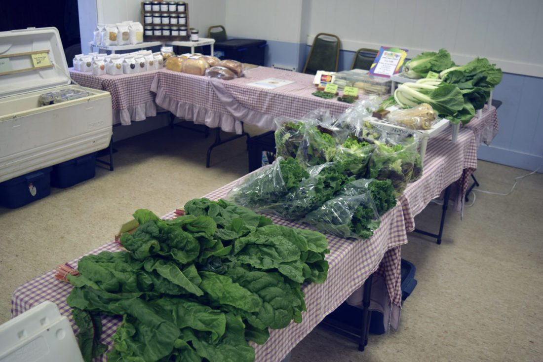 The Fredonia Farmers' Market's winter market is held every Saturday from November through mid-May at the Masonic Forest Lodge, 321 E. Main St. (Route 20) from 10 a.m. to 1 p.m. An abundance of fresh, local produce and meat is available each weekend along with specialty foods including vegetable sushi, spring rolls, local wines and baked goods.
