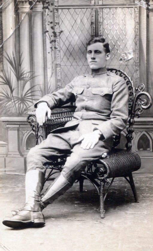 Submitted Photo: Pictured is Samuel Campese, one of the first area soldiers to leave for France during World War I.