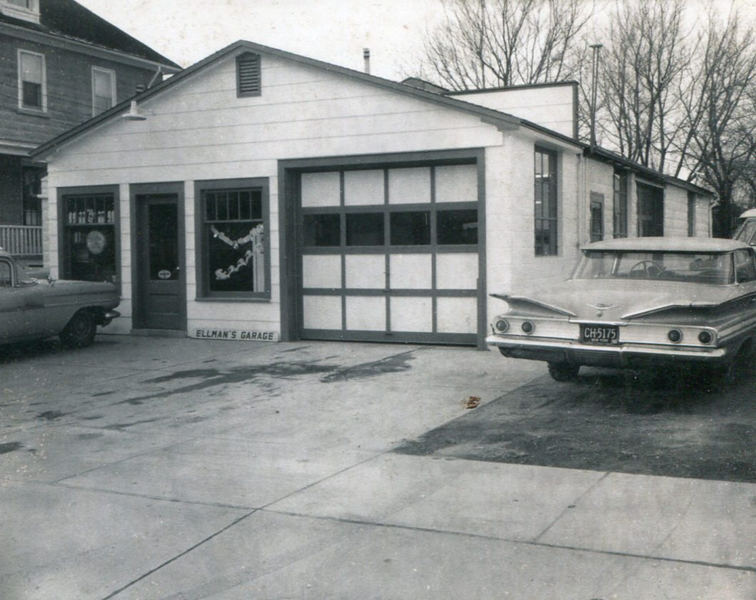 Submitted Photo: After the business was officially established. Ellman's Garage Inc. is a registered New York State Motor Vehicle Repair Shop and is a family-owned and operated business started back in 1957 by the late Mr. Vincent (Tootsie) Ellman. After the recent retirement of Mr. James (Sparky) Ellman, the garage is now owned and operated by Todd, Jimmy, and the late Chad Ellman.