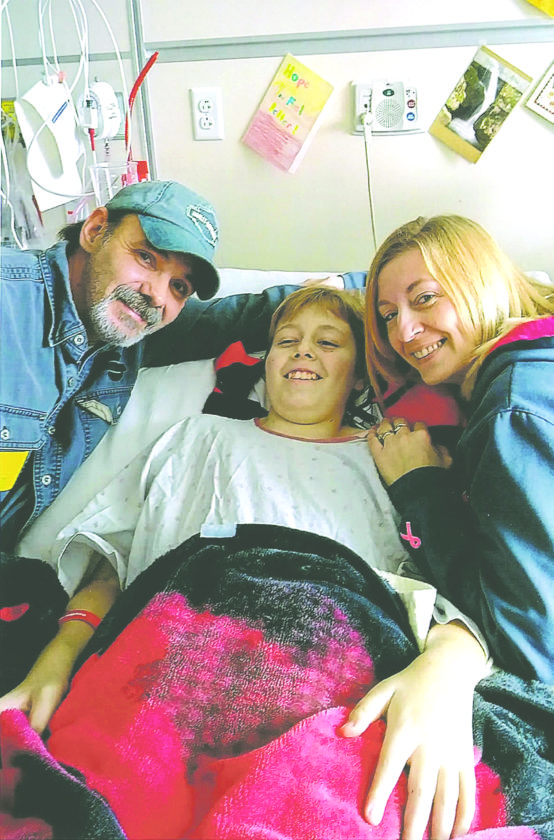 Submitted Photo A benefit for 12-year-old Drake McKane and his family in the wake of Drake's recent B-cell leukemia diagnosis will be held at the Mayville Legion, 144 S. Erie St. in Mayville, from 2-6 p.m. on Saturday, Feb. 24.