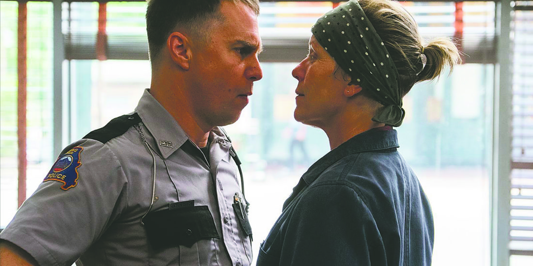 """Submitted Photo Opera House Cinema Series continues this Saturday with a showing of """"Three Billboards Outside Ebbing, Missouri,"""" starring Frances McDormand, Woody Harrelson and Sam Rockwell."""