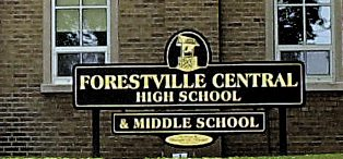 Forestville Central School was under a lockout earlier in the day.