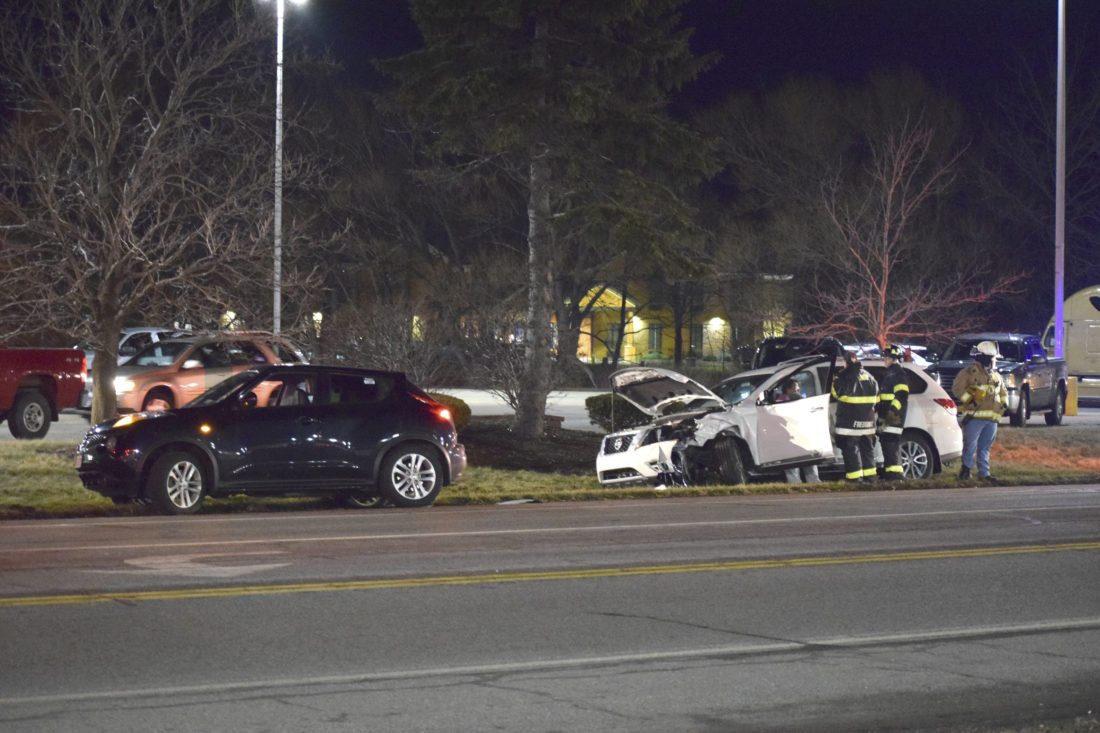 No injuries reported in two-car crash on Vineyard Drive Saturday ...