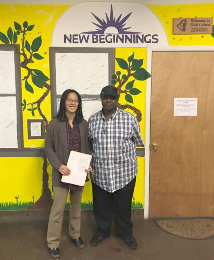Special Volunteer Recognized At Mental Health Association Luncheon