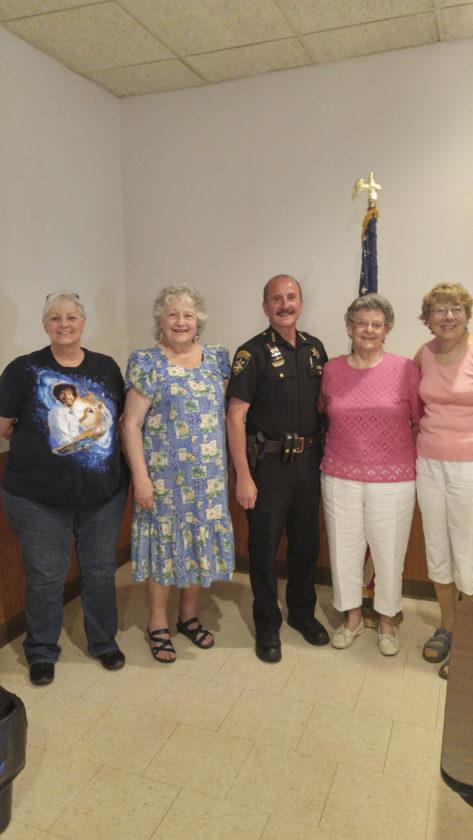 Where do senior citizens meet