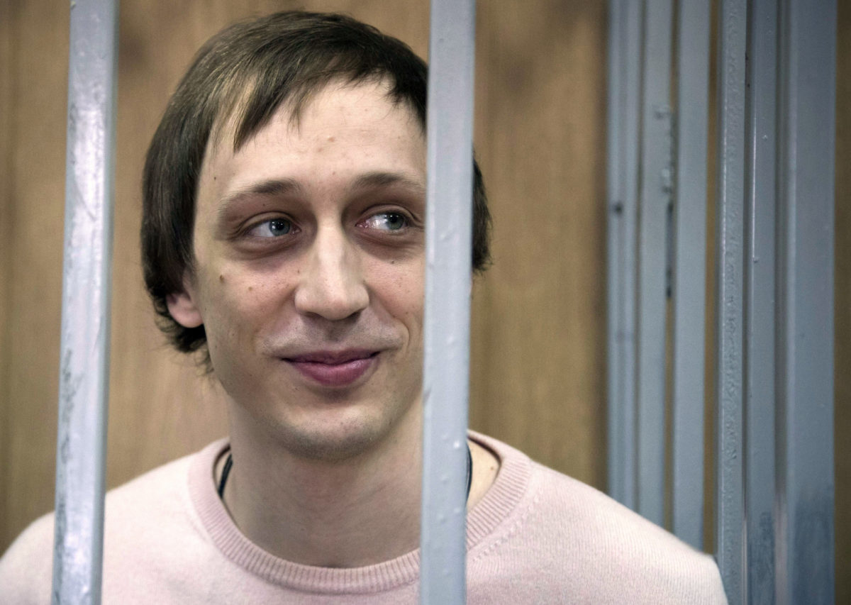 Ballet dancer in Russia acid attack released on parole