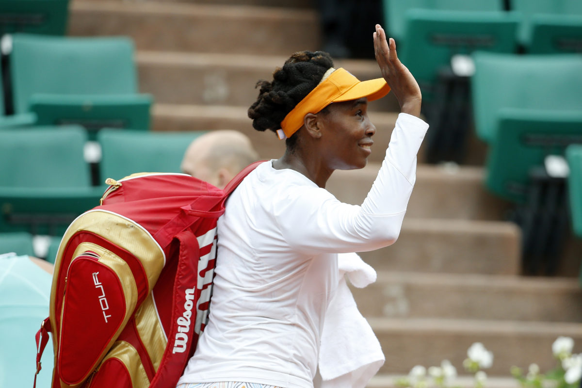 Venus Williams fails to join Serena in French Open quarters