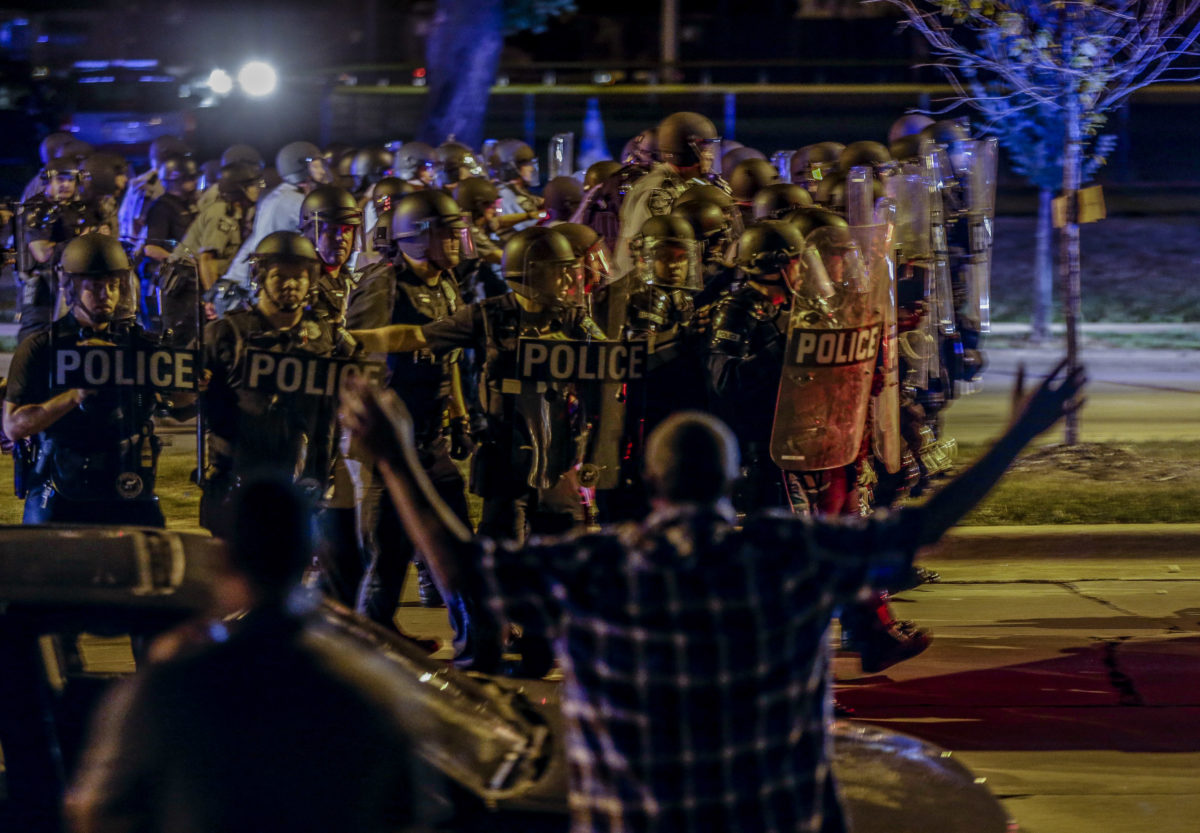 1 person shot in Milwaukee protest but no repeat of riots