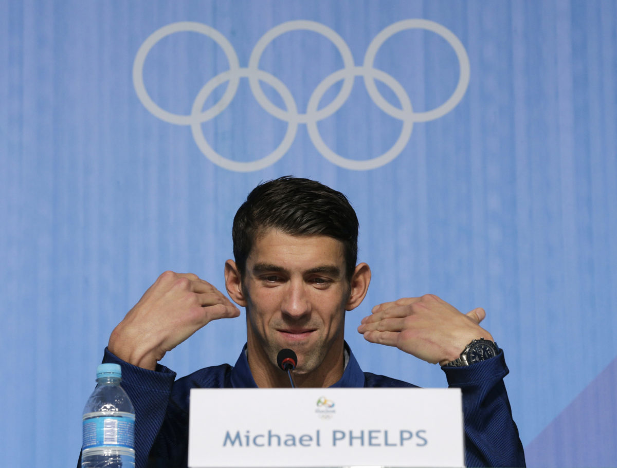 His career over, Phelps looks forward to being full-time dad