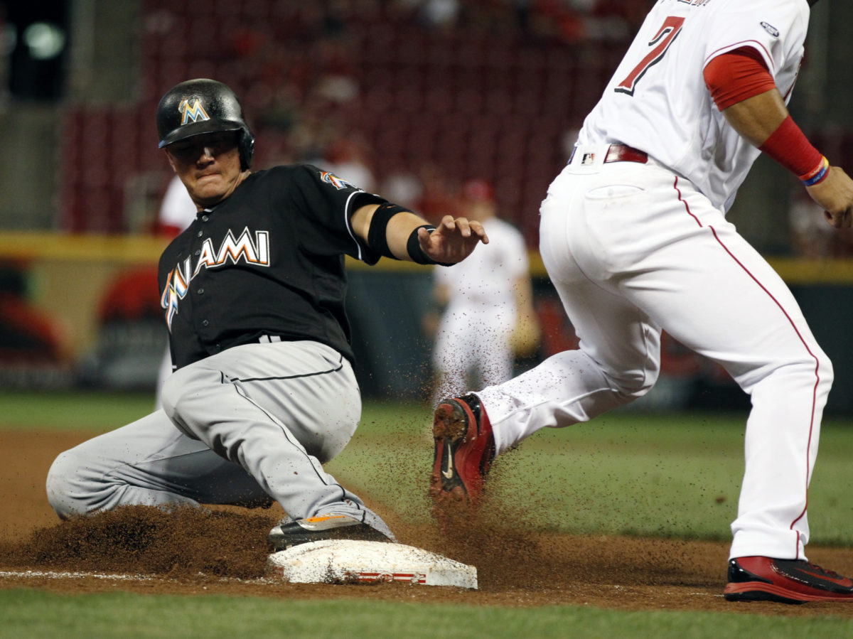 Unlikely Miami power source derails Reds in 6-3 loss