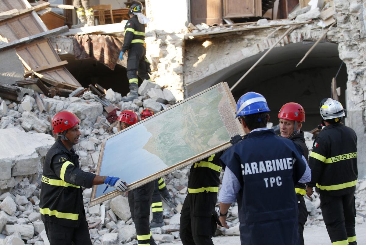 Italy investigates quake buildings, checking for code fraud