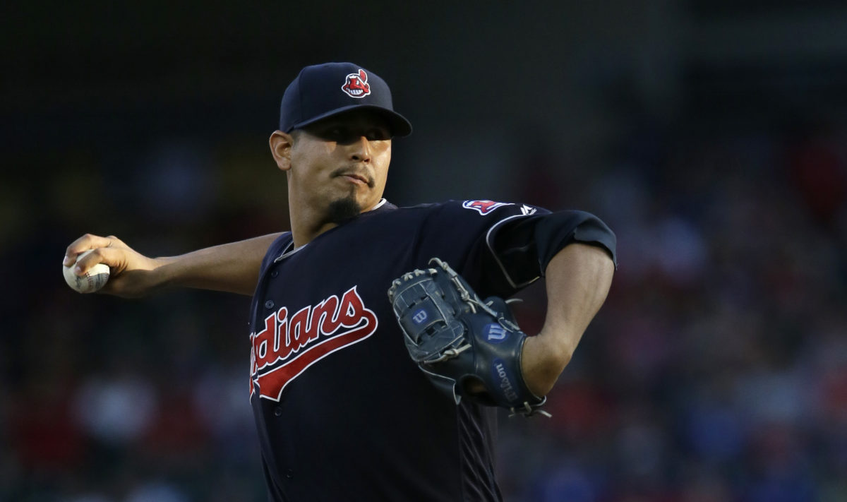 Rough first inning dooms Indians in 7-0 loss to Rangers