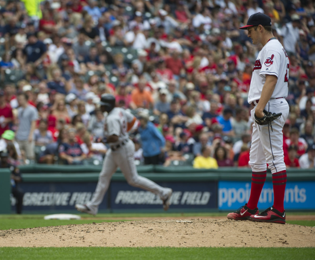 Bauer hits 3 batters, Indians lose to Tigers in testy game